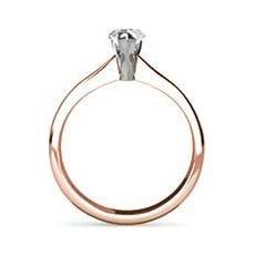 Nisha rose gold engagement ring