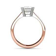 Hestia rose gold ring
