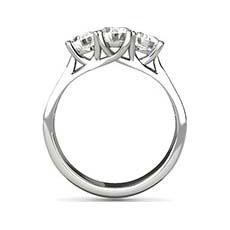 Phoebe shoulder set engagement ring