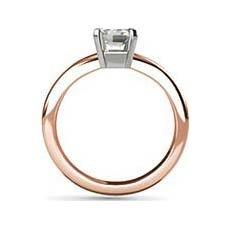 Bethany rose gold engagement ring