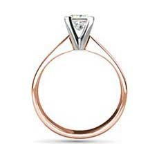 Florence rose gold engagement ring