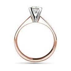 Florence rose gold diamond ring