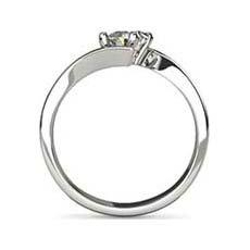 Helena platinum diamond ring