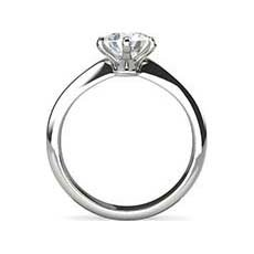 Courtney solitaire ring