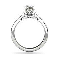 Cosette diamond platinum ring