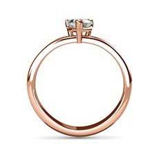 Inspire rose gold diamond ring
