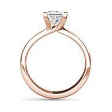 Judy rose gold ring