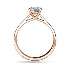 Chloe rose gold engagement ring