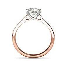 Tamsin rose gold diamond ring