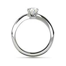 Cora diamond solitaire engagement ring