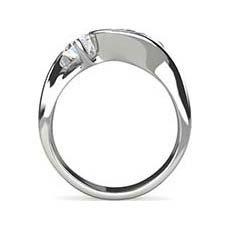Camilla 3 stone engagement ring