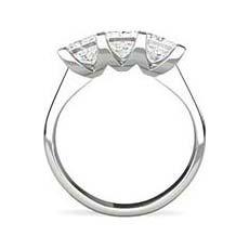 Imogen 3 stone engagement ring